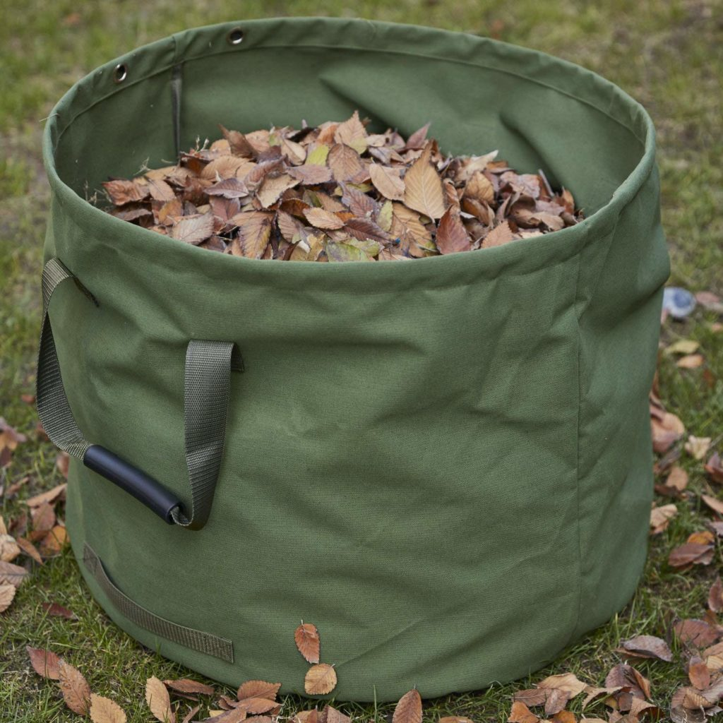 canvas collapsible bucket