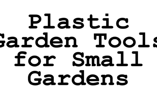 plastic garden tools for small gardens