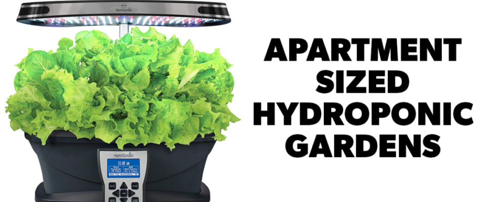 apartment sized indoor hydroponic gardens